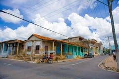 PINAR DEL RIO, CUBA - 10 SEPTEMBRE 2015 : Du centre Images libres de droits