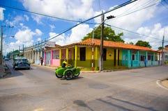 PINAR DEL RIO, CUBA - 10 SETTEMBRE 2015: Del centro Fotografie Stock Libere da Diritti