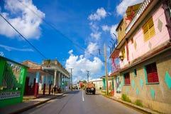 PINAR DEL RIO, CUBA - 10 SETTEMBRE 2015: Del centro Immagine Stock
