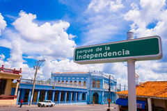 PINAR DEL RIO, CUBA - 10 SETTEMBRE 2015: Del centro Fotografie Stock