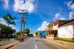 PINAR DEL RIO, CUBA - 10 SETTEMBRE 2015: Del centro Fotografia Stock