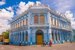 PINAR DEL RIO, CUBA - 10 SETTEMBRE 2015: Del centro Immagini Stock Libere da Diritti