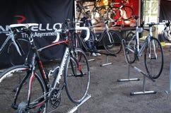 Pinarello racing bike Stock Photos