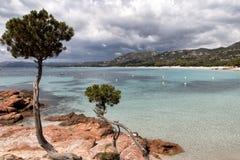 Pinarellu beach Stock Photography