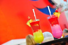 Pinas coladas Royalty Free Stock Photos