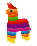 Pinata. Vector illustration on white background Stock Photos