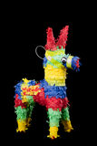 Pinata on a black background. Mexican pinata on a black background Royalty Free Stock Images