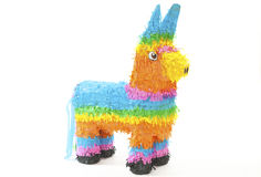 Pinata isolated over white Royalty Free Stock Photo