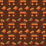 Pinata pattern Stock Images