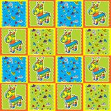 Pinata Pattern Royalty Free Stock Photo