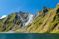 Pinatubo crater Stock Photo