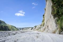 Pinatubo Filippine del supporto di River Valley del Lahar Fotografia Stock Libera da Diritti