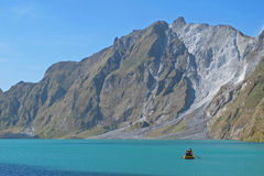 Pinatubo Lake Royalty Free Stock Photography