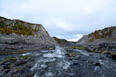 Pinatubo Trek Royalty Free Stock Photography