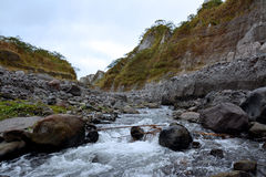 Pinatubo Trek Stock Photography