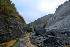 Pinatubo Trek Royalty Free Stock Image
