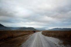 Pinatubo wędrówka obrazy royalty free