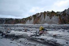 Pinatubo-Wanderung Stockfotografie