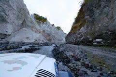 Pinatubo-Wanderung Lizenzfreies Stockfoto