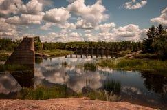 Pinawa dam provincial heritage park Stock Photography