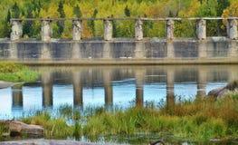 Pinawa Dam Stock Photo