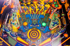 Pinball game Stock Photos