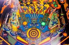 Pinball game stock photos