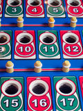Pinball game table Stock Photography