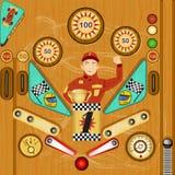 Pinball illustration 2 Royalty Free Stock Photo