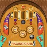 Pinball illustration Stock Photo