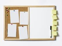 Пустой Pinboard Стоковые Фото