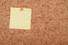 Pinboard. A pinboard with thumtacks on it Royalty Free Stock Image