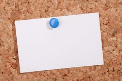 Pinboard. A pinboard with thumtacks on it Stock Photography