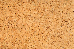 Pinboard. Brown pinboard for example as background Royalty Free Stock Photography