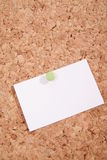 Pinboard. A pinboard with thumtacks on it Royalty Free Stock Images