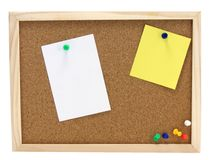 Pinboard - Notice board Royalty Free Stock Photo