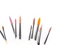 Pincéis coloridos da aquarela Foto de Stock Royalty Free