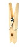 Pince à linge en bois Image libre de droits
