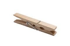 Pince à linge en bois Photo libre de droits