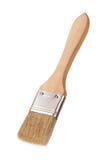 Pinceau avec une poignée en bois Photo libre de droits