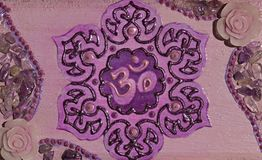 Pinceau de Chakra Sahasrara de couronne Photo stock