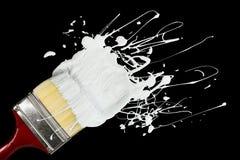 Pinceau et peinture Images libres de droits