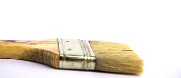 Pinceau sur le fond blanc Photographie stock libre de droits