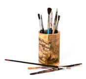 Pinceaux Photographie stock libre de droits