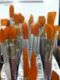 Pinceaux d'artistes 2 photos stock