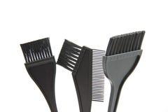 Pincel da coloração de cabelo Fotografia de Stock Royalty Free
