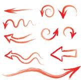 Pincel da seta ilustração stock