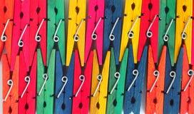 pinces à linge Photo libre de droits