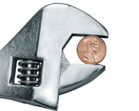 Pincher de penny Image libre de droits