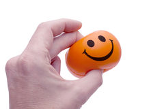 Pinching some Happiness! Royalty Free Stock Photo
